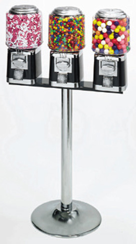 Buy Triple Vending Machine with Stand - Vending Machine Supplies on Sale