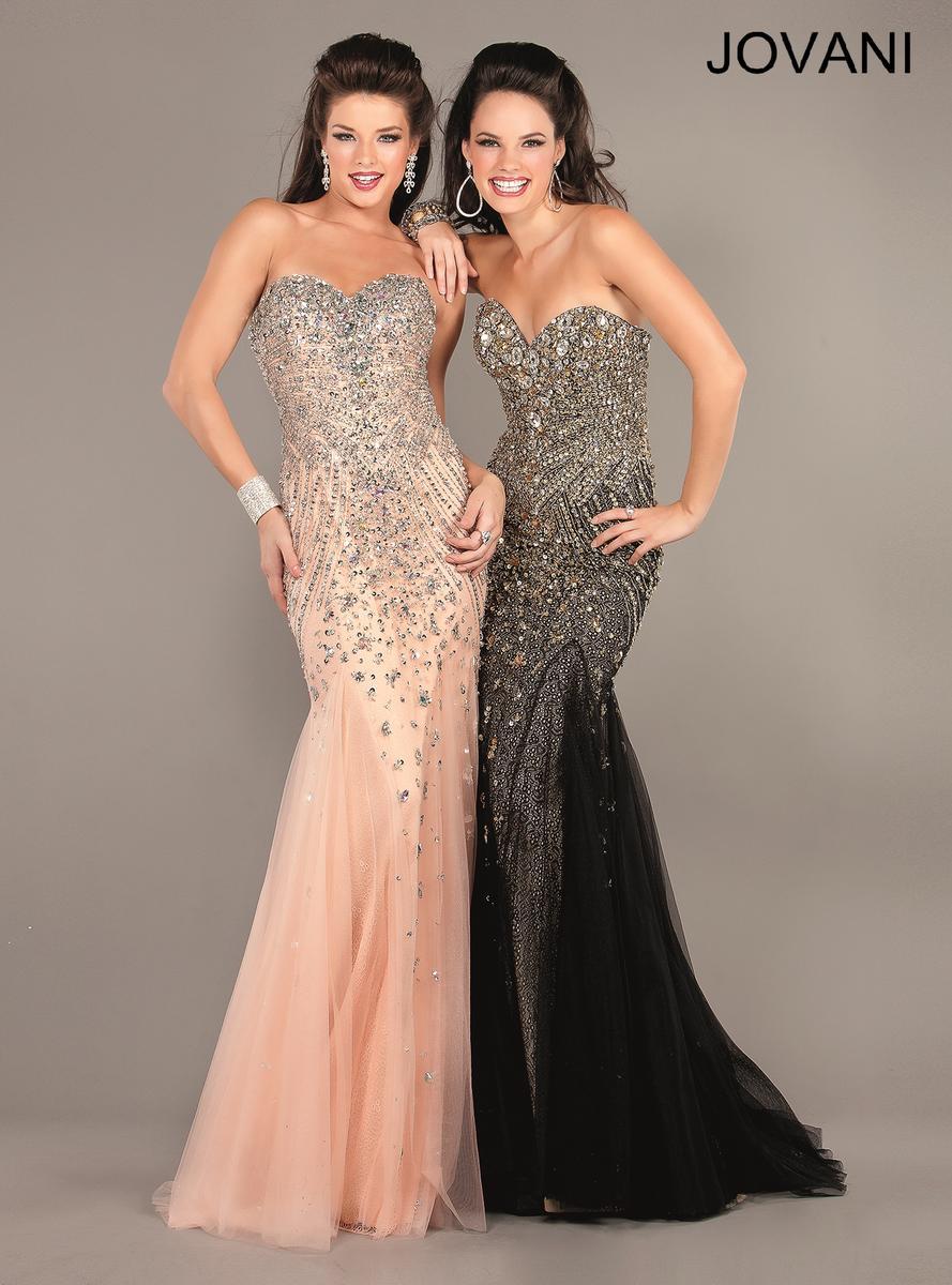Jovani Goddess Mermaid Prom Dress 6837