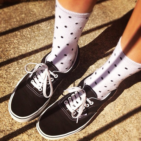 shoes socks vans