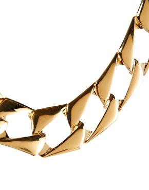 ASOS | ASOS Vintage Style Flat Link Necklace at ASOS