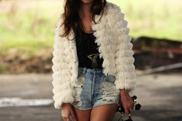 shorts ici fashion streetstyle icifashion boho slasher flick cutoff shorts mink pink festival hat jacket