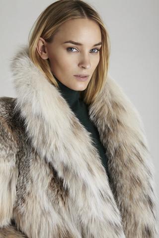 Uma Lynx Fur Coat                             GK Furs New York