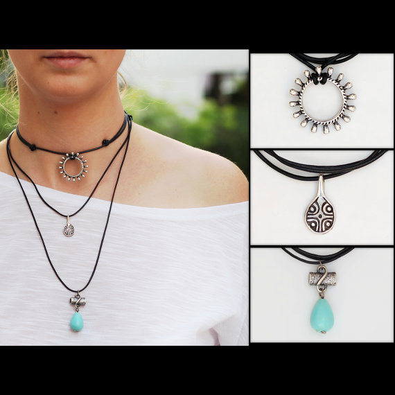 Choose Any 3 Chokers For 24.90 by ChokerNecklace on Etsy