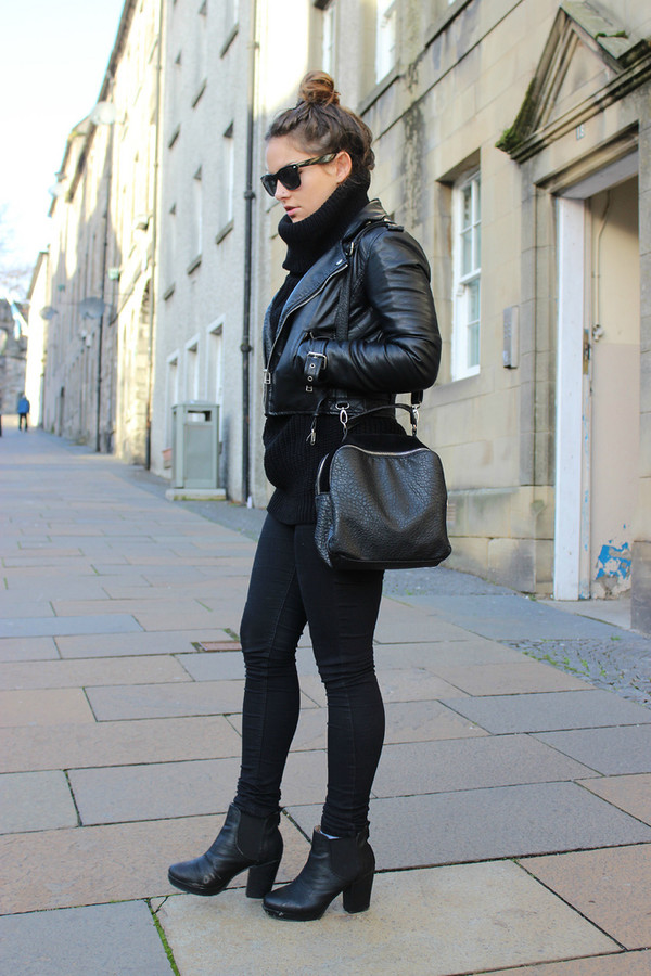the little magpie jacket jeans shoes bag