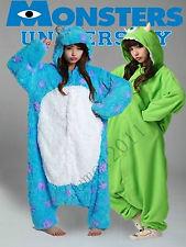 Adult Monsters University Mike Wazowski Sulley Costume Pajamas Cosplay Onesie | eBay