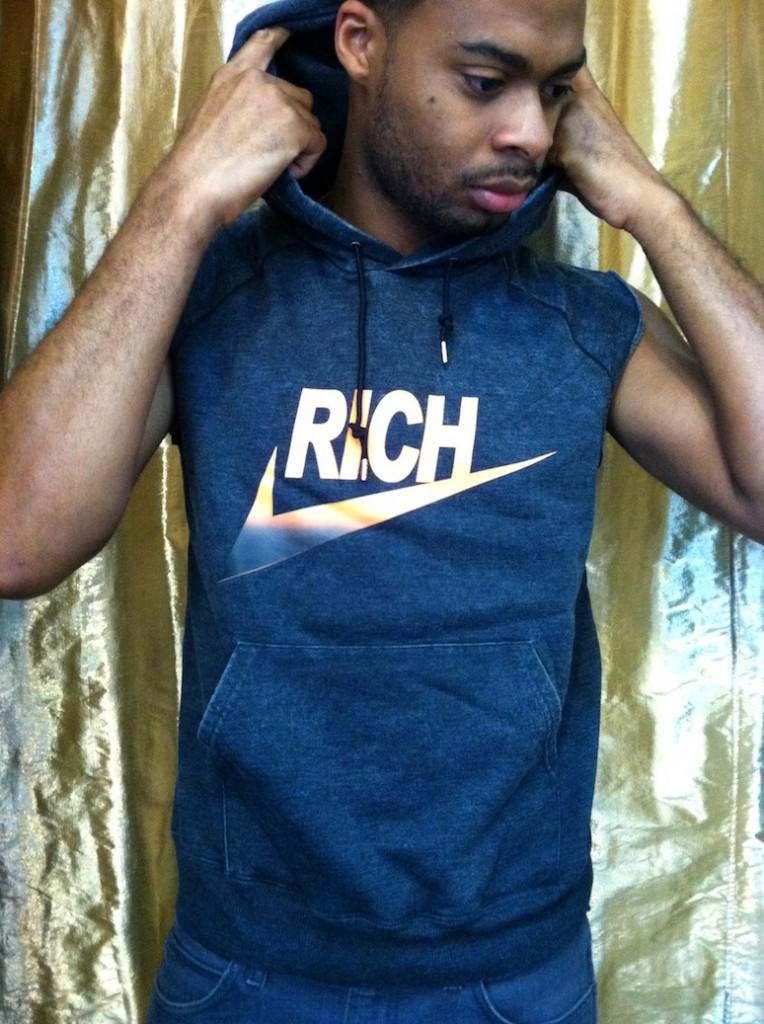 BACK IN STOCK! RICH CUT-OFF HOODIE!!! | Joyrich USA