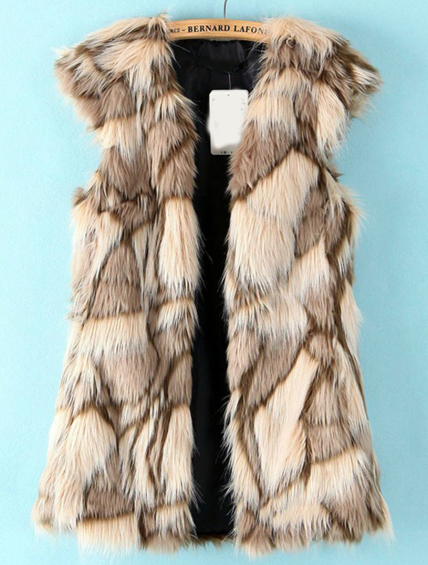 coat vest fur faux faux fur faux fur vest