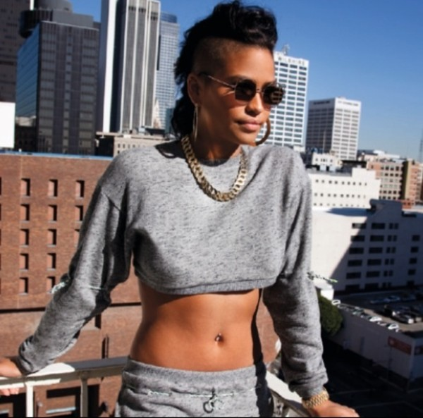 shirt cassie ventura vintage all grey everything pants sunglasses jewels love her just so sexy gorgeous All grey outfit