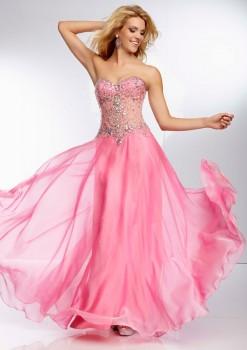 Paparazzi by Mori Lee 95070 Chiffon Prom Dress