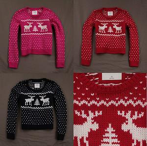Abercrombie Fitch Women's Gemma Wool Knit Sweater Cropped Easy Fit Moose NWT   eBay