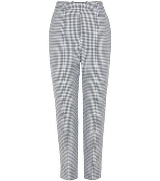 houndstooth grey pants