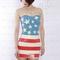 Latex rubber gummi 45mm flag dress skirt strapless suit customize sexy handmade | ebay