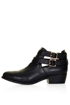 MONTI2 Cutout Boots - Boots - Shoes - Topshop USA