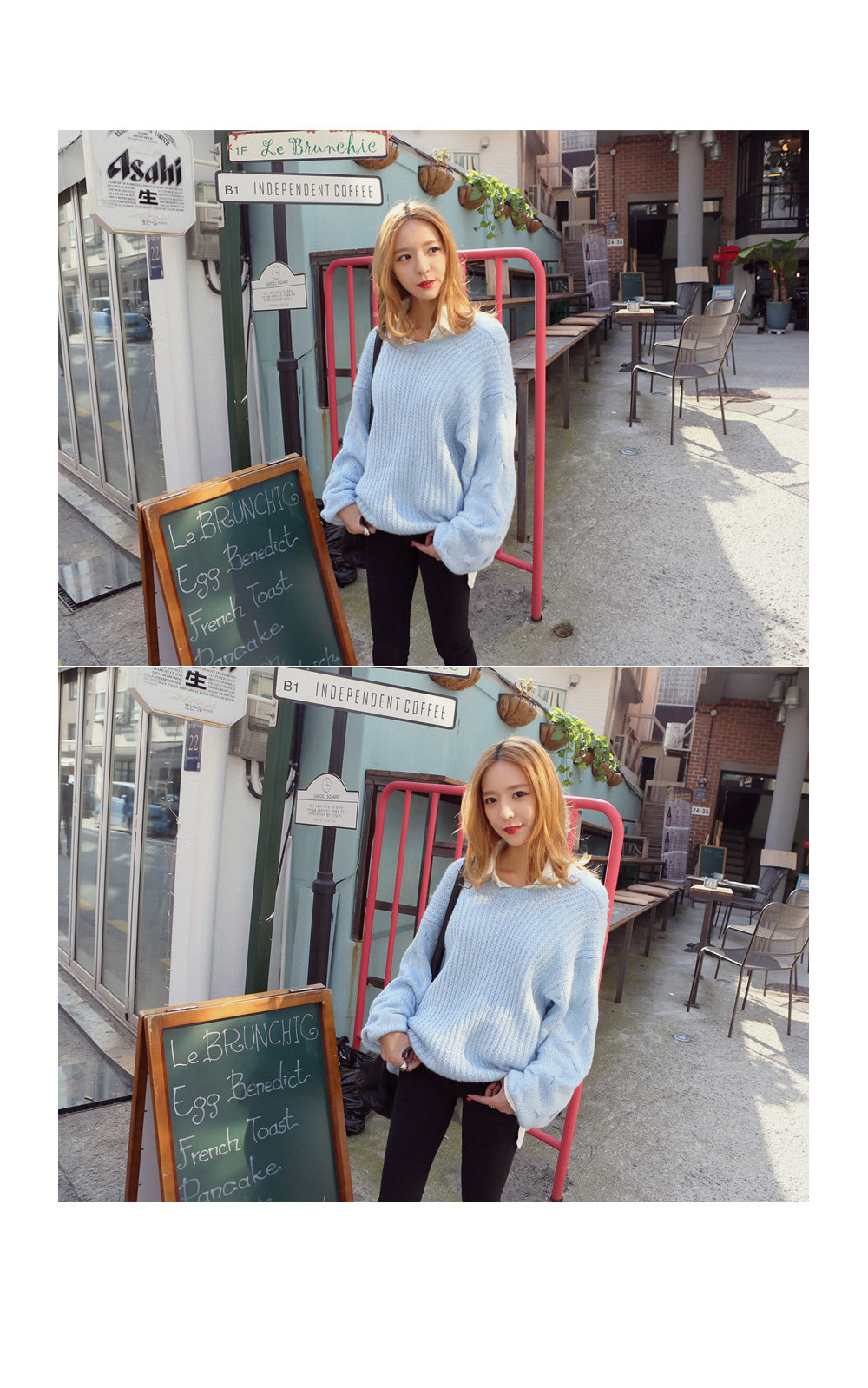 Cable-Knit Sweater - REDOPIN | YESSTYLE