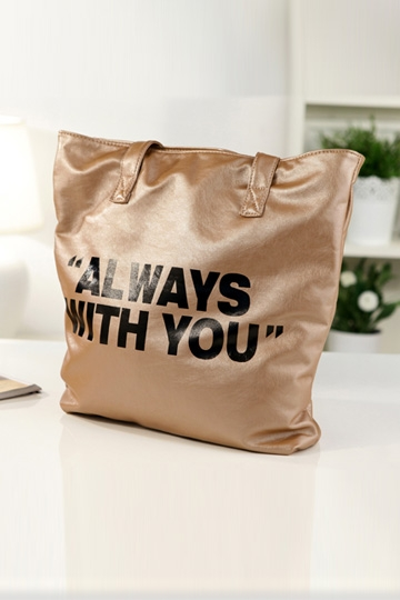 Always With You Print Tote Bag [FPB536]- US$ 23.99 - PersunMall.com