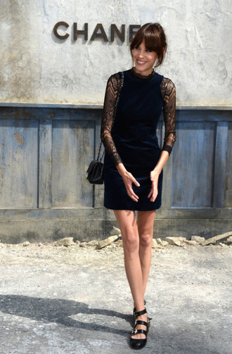 shoes alexa chung dress