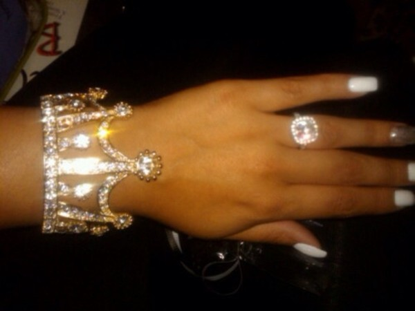 jewels queen diamonds ring braclet silver cute girl