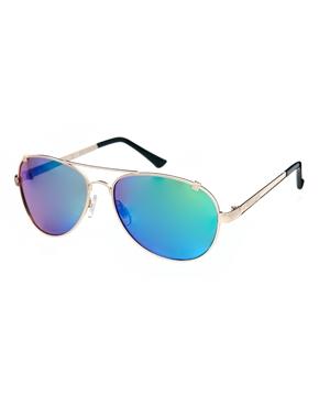 River Island | River Island – Maisie – Verspiegelte Sonnenbrille bei ASOS