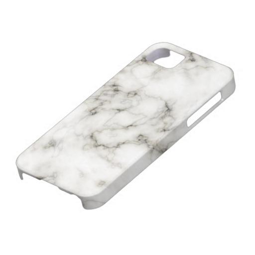 Ebony Ivory marble iPhone 5 Cover from Zazzle.com