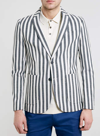 Selected Homme Stripe Blazer - TOPMAN