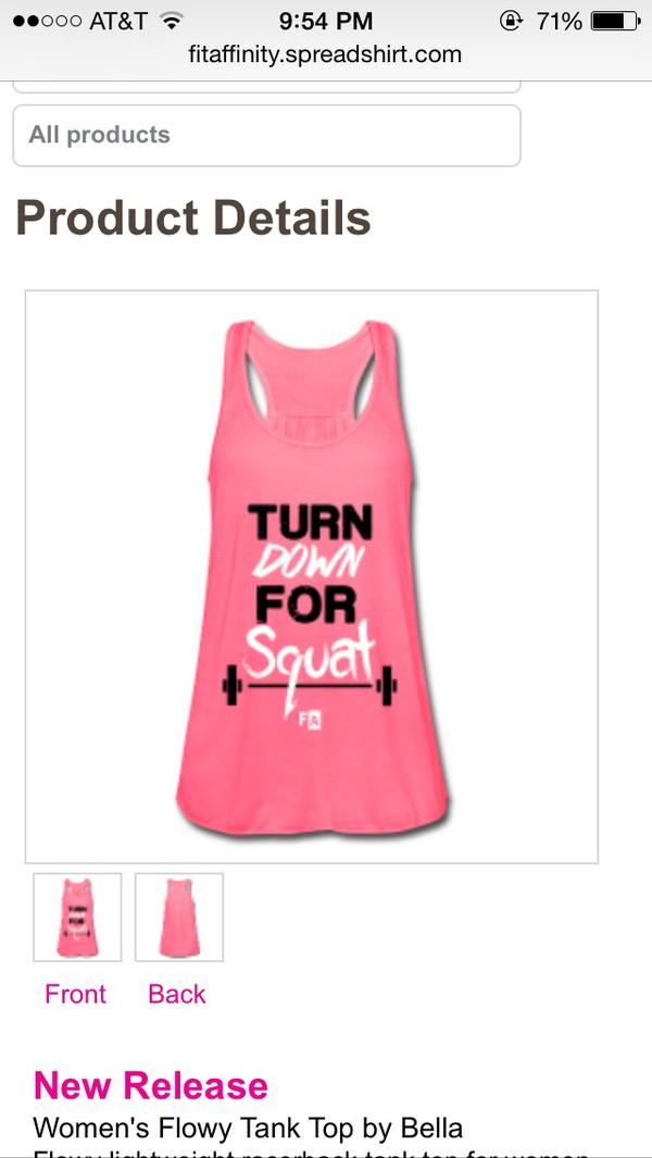tank top workout top