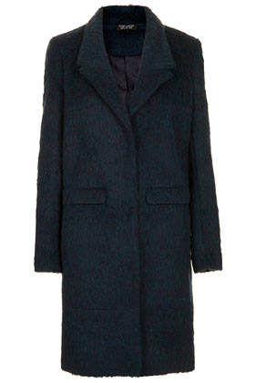 Fluffy Boyfriend Coat - Up To 30% Off Coats  - Sale & Offers  - Topshop