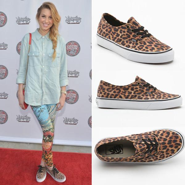 shoes leopard print shoes vans