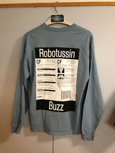Supreme Robitussin Long Sleeve T-Shirt Not CDG Bape Kate Moss Patta Authentic | eBay