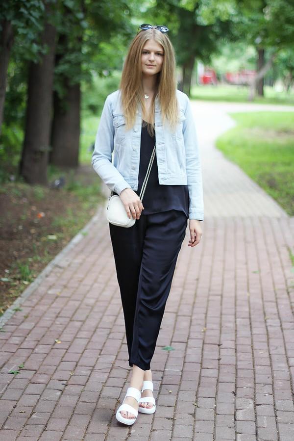 white rabbit dreams sunglasses jacket jewels top bag shoes pants