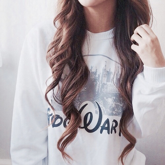 sweater hair girl harry potter childhood young youth nice hogwarts walt disney avada kedavra
