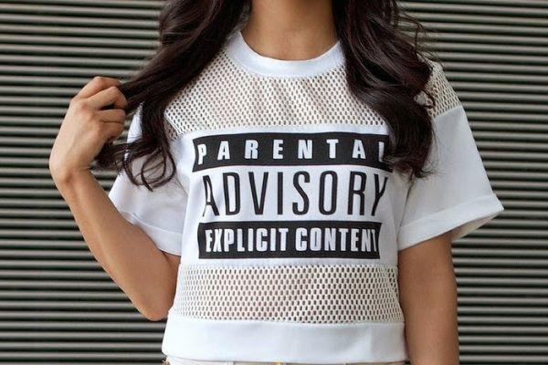 t-shirt mesh shirt mesh mesh tank parental advisory explicit content parental advisory explicit content