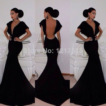 Aliexpress.com : Buy Hot Sales Side Slit Long Chiffon Red Evening Dressesy Sexy Pageant Gown Girls Long Sleeve Prom Dresses 2014 Custom from Reliable gown clothes suppliers on Clover Dresses