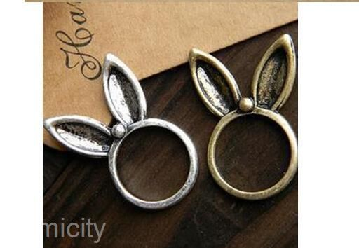 Retro Special Modellin Super Texture Lovely Vertical Rabbit Long Ear Ring Rings | eBay