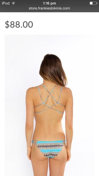 swimwear frankie bikini pattern bikini bikini top