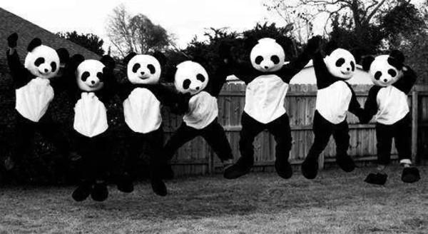tank top panda costume jumpsuit panda costume