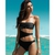 MON Women Black One Piece Cut Out Monokini Swimsuit Bikini Padded Swimwear L M S | eBay