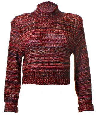 LOVE High Neck Multi Knit - In Love With Fashion