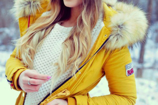 coat sweater hair extensions