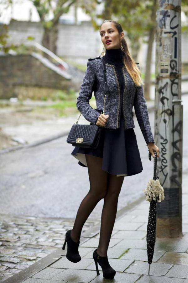 from brussels with love shoes skirt jacket sweater bag jewels