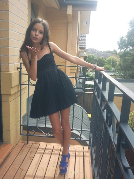 dress black black dress little black dress cute hot short dress mini dress pretty shoes