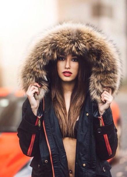 jacket fur coat fashion classy