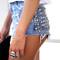 Dangers denim half studded shorts | runwaydreamz