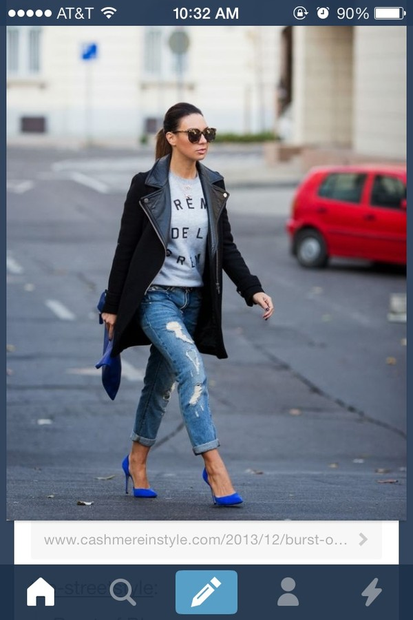 shoes jewels jacket jeans
