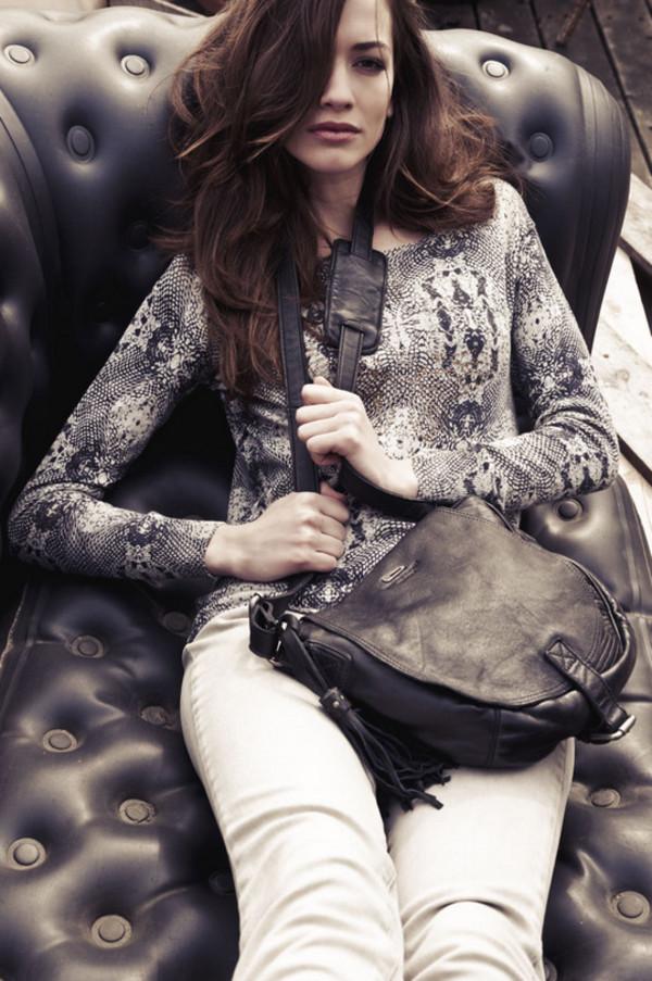 shirt ikks lookbook fashion bag