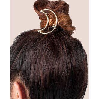 hair accessory gold soul hair clip