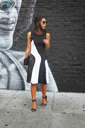 this time tomorrow blogger bag sunglasses colorblock dress shoes jewels