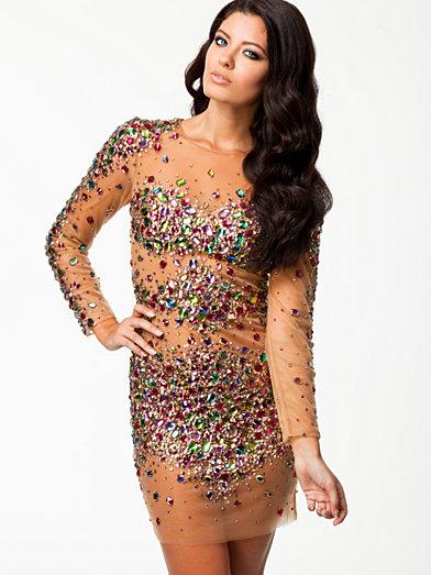 shimmer dress forever unique multicolour
