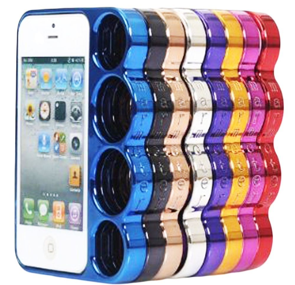Creative New for Apple iPhone 5 5g Plastic Brass Knuckles Case Cover Skin | eBay