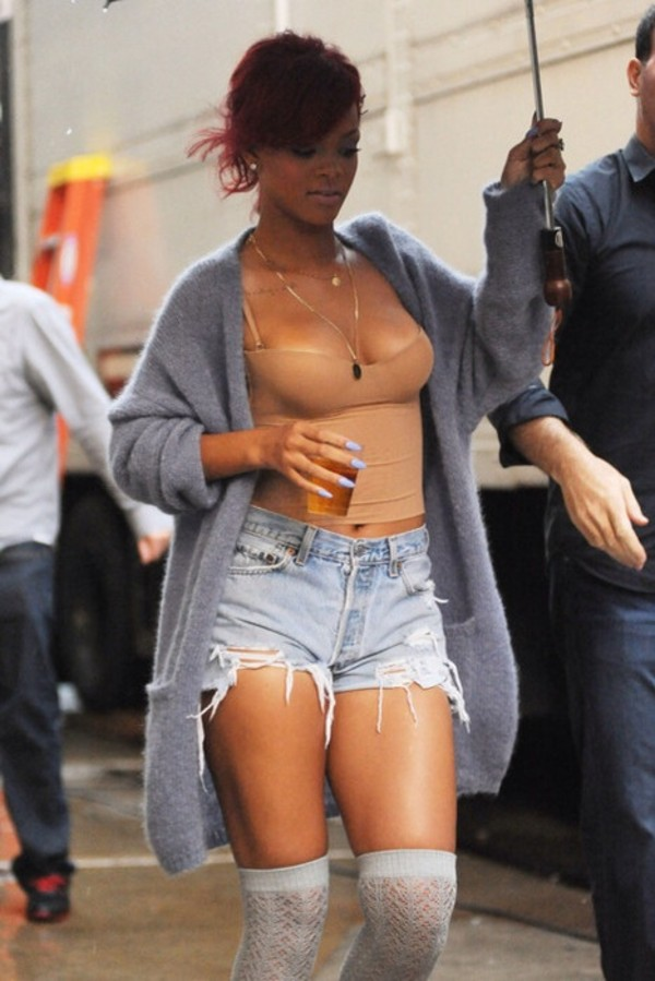 shirt rihanna pants