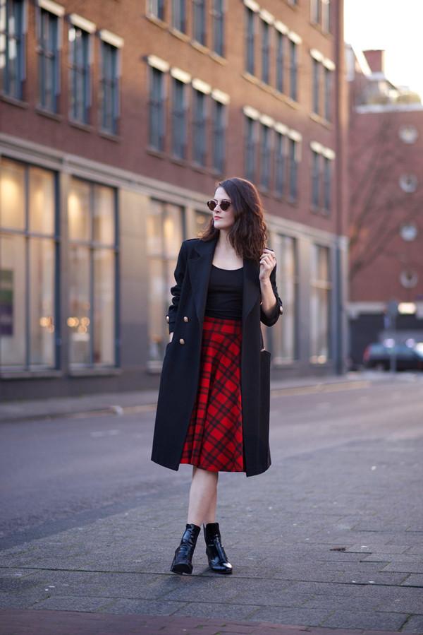 fashion fillers skirt coat t-shirt shoes